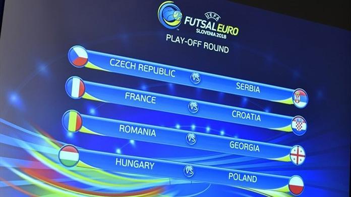 euro2018 futsal playoff sorteggio