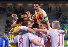 futsal euro 2018 spagna