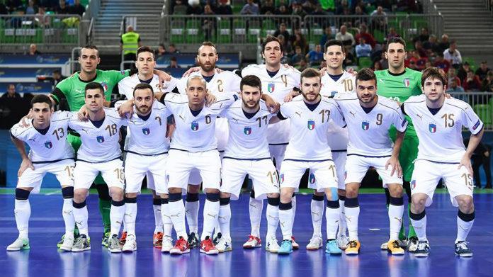 italia-slovenia futsal euro 2018