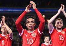 robinho russia futsal euro 2018