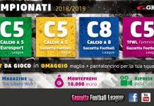campionati top five 2018-2019