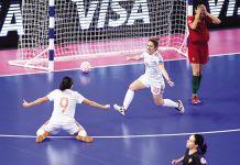 Nazionale Femminile Calcio a 5 - Tiro Libero Web