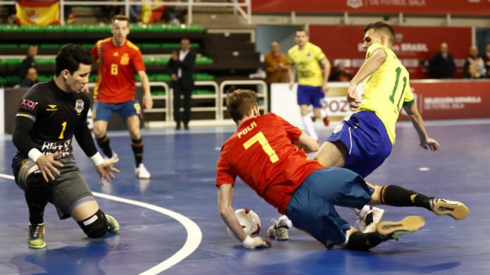 spagna brasile futsal