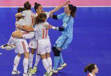 women's futsal euro spagna