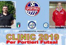 clinic per portieri futsal