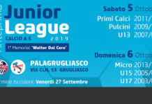 anteprima junior league