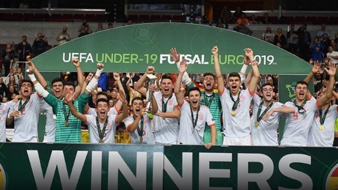 spagna futsal euro under 19