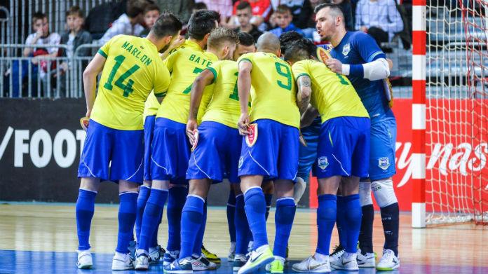 selecao futsal brasile