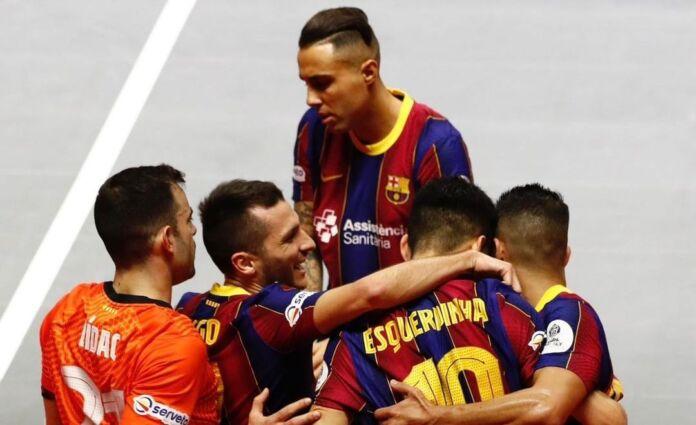 barcellona futsal champions league