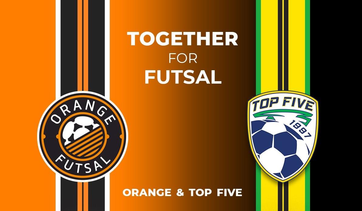 top five orange futsal